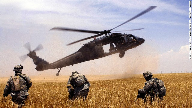 The Firehawk is basically a re-purposed version of the Army's Black Hawk combat helicopter.