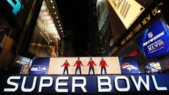 The Tony Award-winning Jersey Boys perform in New York on January 29.