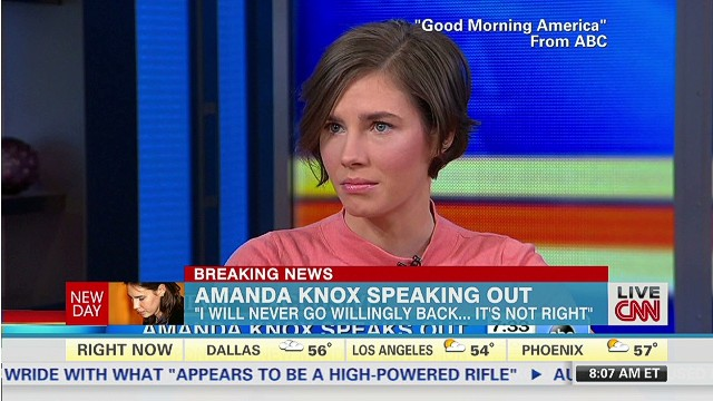 Amanda Knox: I'm going to fight this