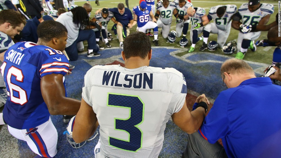 "Russell Wilson, quarterback of the Seattle Seahawks, says that he was a ""bad kid"" but became a committed Christian after Jesus appeared to him in a dream when he was 14."