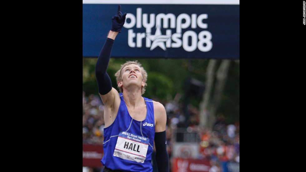 "Olympic marathoner Ryan Hall is a deeply devout evangelical Christian, even basing his training routine on the Bible. ""I believe that the Bible is the best sports psychology book out there and that Jesus would have been an amazing athlete,"" he told Running Times in 2010."