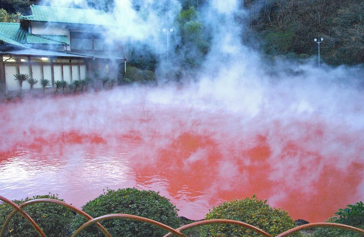 Image result for Hells of Beppu, Japan