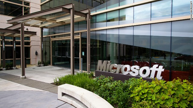 An image of the Microsoft campus in Redmond, Washington.