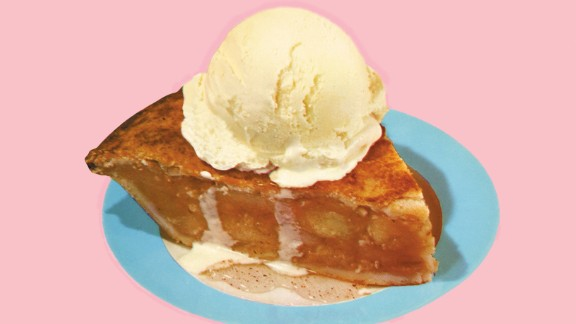 Apple pie (England): Historians trace the origins of the pastry shell  to ancient Greece, but it was the English who got the idea of using apples, and in the pre-Revolution Colonies, the practice of using pies as preservatives, and experimenting with spices like cinnamon and nutmeg, helped in the evolution of the treat that is as American as, well ...