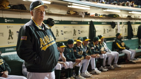 "Hoffman plays manager Art Howe in the 2011 hit ""Moneyball."" The real Art Howe was reportedly not pleased with how he was portrayed in the film but told TMZ Sports he didn"