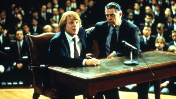 "Hoffman plays George Willis Jr. in 1992's ""Scent of a Woman."" He is credited as Philip S. Hoffman in the movie."