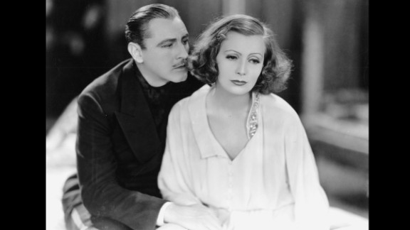 """""""Grand Hotel"""" (1933): The all-star cast of """"Grand Hotel,"""" including Greta Garbo and John Barrymore (pictured), portrayed characters in a mix of plot lines at a Berlin hotel. The film won just the one Oscar, but has been immortalized for one of Garbo's lines of dialogue: """"I want to be alone."""""""