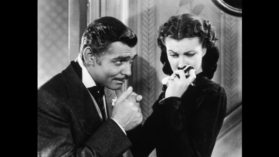 """""""Gone With the Wind"""" (1940): Still considered one of the great Hollywood epics, 1939's """"Gone With the Wind"""" won 10 Oscars, including best picture and best actress for star Vivien Leigh, right. Though Clark Gable was nominated for best actor, he lost to Robert Donat (""""Goodbye, Mr. Chips"""") in one of the great Oscar upsets."""