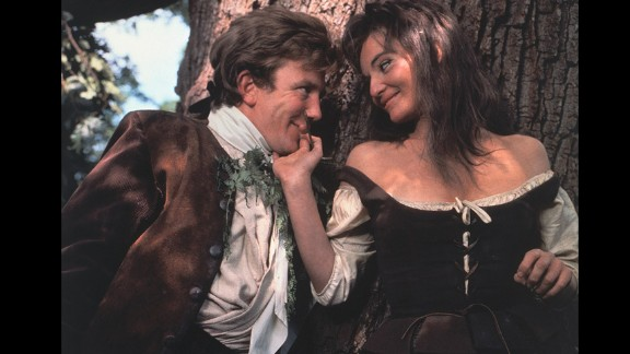 """""""Tom Jones"""" (1964): Albert Finney tackled the amorous title role in """"Tom Jones,"""" a British comedy based on Henry Fielding's novel about a foundling raised by a wealthy landowner. Diane Cilento, right, was one of his conquests. Tony Richardson also won the Oscar for his direction of the film."""