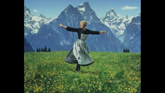 """""""The Sound of Music"""" (1966): Forget the recent live broadcast of the Richard Rodgers and Oscar Hammerstein musical on NBC with Carrie Underwood. For many movie fans, Julie Andrews remains the one and only Maria, governess to the von Trapp children in Austria on the eve of World War II. Marni Nixon, who dubbed the singing voices of Natalie Wood in """"West Side Story,"""" Deborah Kerr in """"The King and I"""" and Audrey Hepburn in """"My Fair Lady,"""" had her first on-screen role as a nun. Not only did """"The Sound of Music"""" win best picture, it was also for a time the biggest moneymaker ever."""