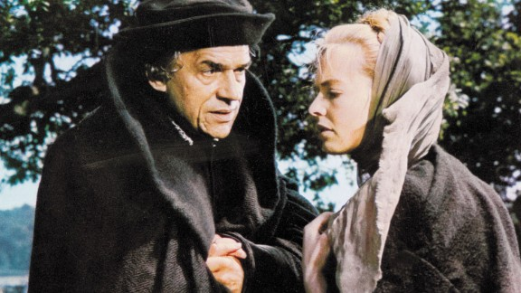 """""""A Man for All Seasons"""" (1967): Paul Scofield re-created his stage role as Sir Thomas More in Fred Zinnemann's film version of the Robert Bolt drama """"A Man for All Seasons."""" The film portrayed More as a man of conscience who refused to recognize King Henry VIII as head of the Church of England because of his denial of the Pope's authority. Scofield and director Zinnemann both won Oscars for their work. Susannah York, right, co-starred."""