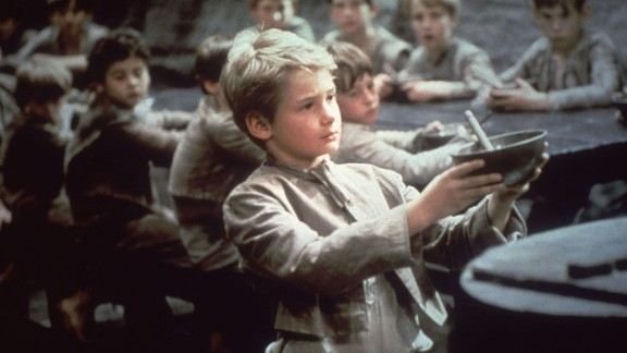 """""""Oliver!"""" (1969): This best picture winner was a musical adaptation of Charles Dickens' """"Oliver Twist"""" with Mark Lester as an orphan who teams up with other young pickpockets led by an old criminal. Carol Reed also took home the Oscar for best director. Two of 1968's best-remembered movies, Stanley Kubrick's """"2001: A Space Odyssey"""" and Roman Polanski's """"Rosemary's Baby,"""" weren't even nominated for best picture."""