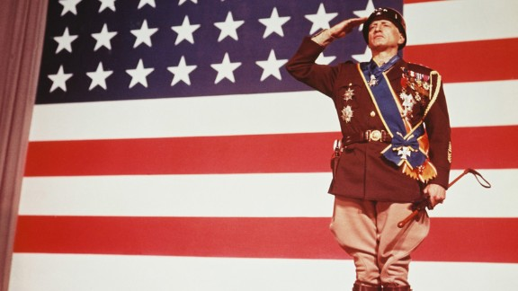 """""""Patton"""" (1971): George C. Scott made Oscar history when he became the first actor to refuse the award. Scott played the title role in this biography of volatile World War II Gen. George S. Patton Jr. The film, directed by Franklin J. Schaffner, reportedly was one of President Richard Nixon's favorite films."""