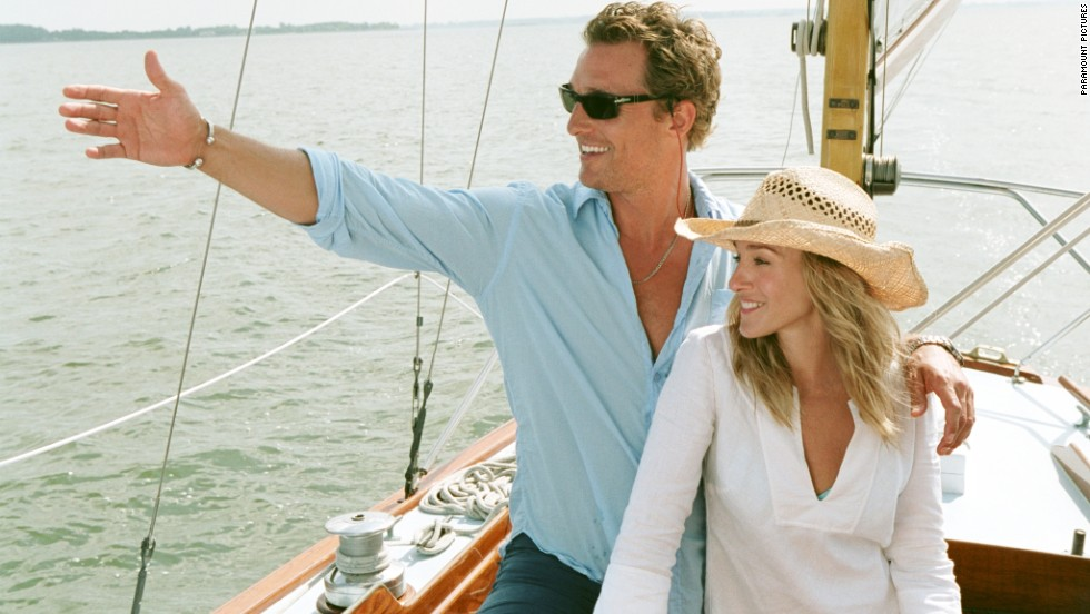 "What happens when the parents of Matthew McConaughey's character hire Sarah Jessica Parker's character to help get him out of the house? You have the 2006 movie <strong>""Failure to Launch.""</strong> (Available now.)"