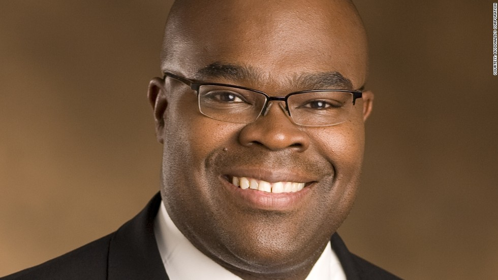 President and chief executive of McDonald's, Don Thompson, has worked his way up the company, since joining as an electrical engineer in 1990. He grew up in impoverished Cabrini-Green housing projects in Chicago.