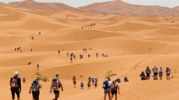 "The country also hosts world-known events such as Marathon des Sables, a grueling race across 150 miles of the Sahara desert which has been deemed ""the toughest footrace on Earth."""
