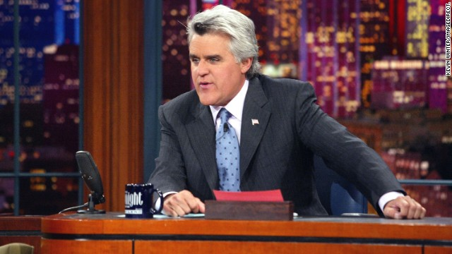 "Now that he's out from behind the ""Tonight Show"" desk, Jay Leno is spending his time giving back to soldiers."