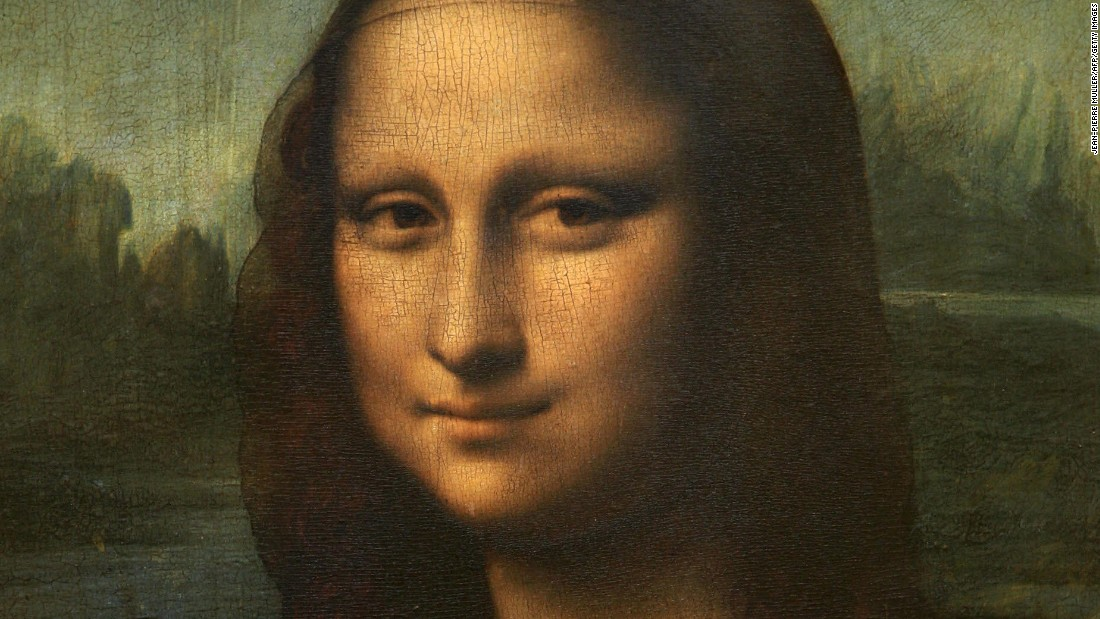 Doctor diagnoses woman in 'Mona Lisa'