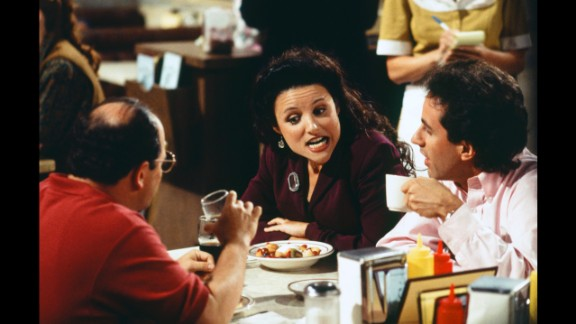 Julia Louis-Dreyfus, who played Elaine Benes, was the queen of the cast.