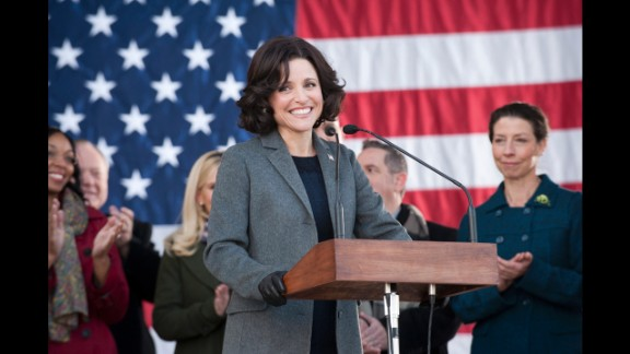 "These days, Louis-Dreyfus is enjoying continued success with a starring role on the HBO series ""Veep,"" which won her a Screen Actors Guild Award."