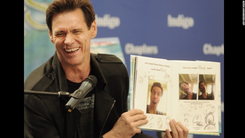 "Jim Carrey, wild man of ""The Mask"" and ""Ace Ventura,"" is actually a buttoned-up Canadian underneath that rubbery exterior. He was born in Newmarket, Ontario, just north of Toronto."