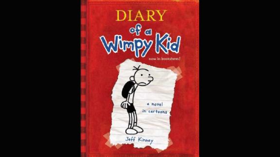 'Diary of a Wimpy Kid' by Jeff Kinney