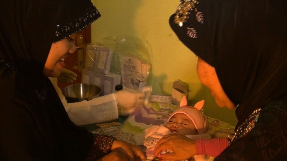 Female Genital Mutilation in Indonesia - Screen Grab from Saima Mohsin PKG