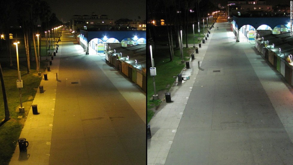 Led streetlights doctors issue warning cnn ocean front walk in venice mozeypictures Images
