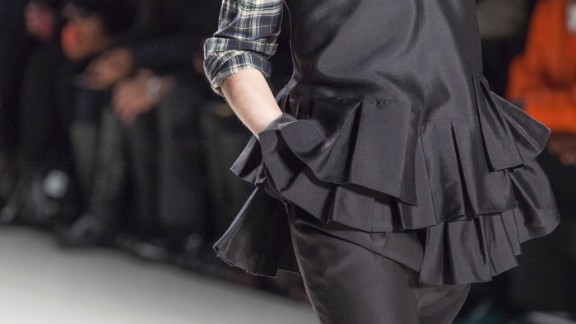 Marissa Webb played on proportions and shapes as seen in this detailing.