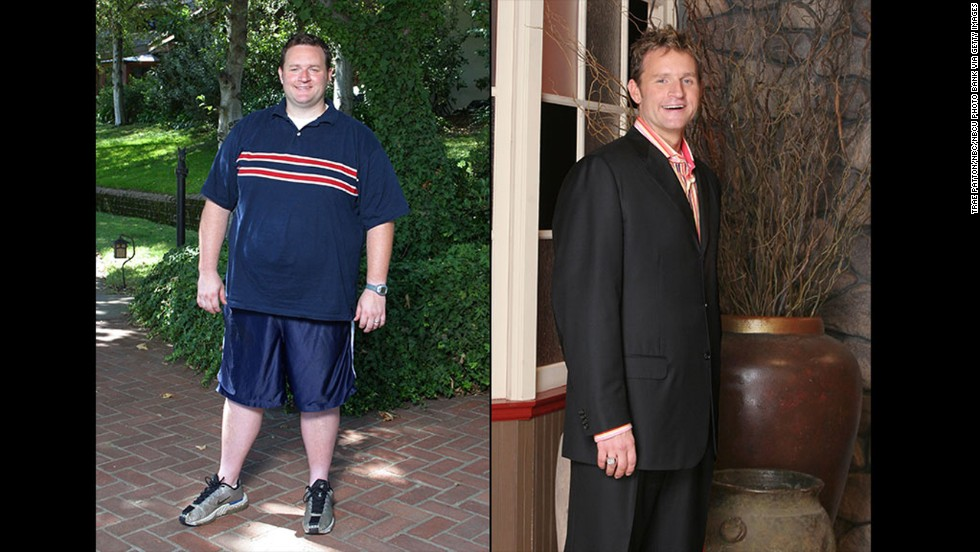 "The first ""Biggest Loser,"" Ryan Benson, dropped down to 208 after entering the competition weighing 330 pounds. <a href=""https://twitter.com/ryancbenson"" target=""_blank"">In his Twitter bio,</a> he said that he's ""gained some of the weight back, but have maintained my boyish good looks and cat like agility."""