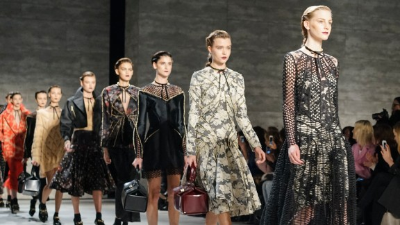 """Zimmermann referred to their collection as """"cloud stompers."""""""