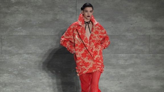 Oversized coats were one of the many themes at Zimmermann