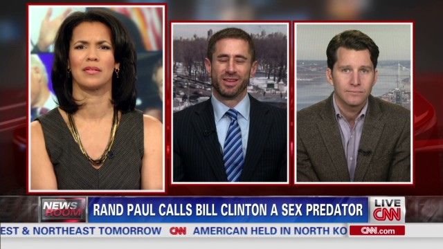 Rand Paul calls Bill Clinton a sex predator