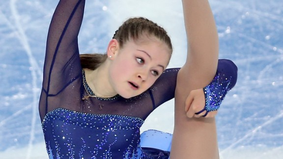 Julia Lipitskaya won the hearts of the crowd when she helped Russia win the team figure skating competition, but the 15-year-old was fifth in the individual event as compatriot Adelina Sotnikova, 17, won gold from defending champion Kim Yuna of South Korea.