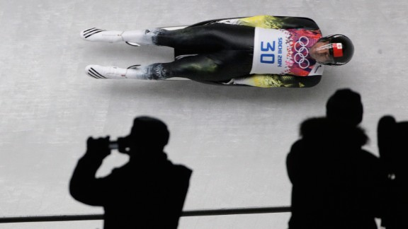 The only person from Tonga at Sochi is 21 year-old Bruno Banani, a luger. Formerly named Fuahea Semi, Banani changed his name to the same name as a German underwear company as a marketing ploy.