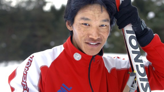 44-year old Dacchiri Sherpa is Nepal's sole representative, and will compete in cross-country skiing.