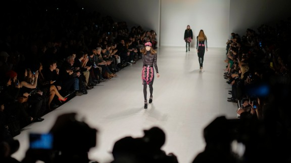 Custo Barcelona, a line by brothers Custo and David Dalmau, showed its fall collection on February 9.