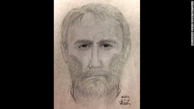 Police released a sketch of a man who may be a suspect in last week's slaying.