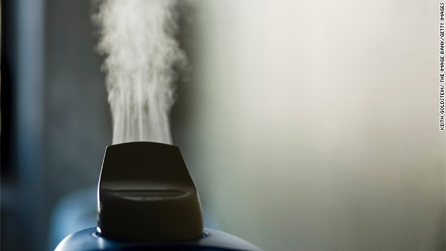 Health issues can arise from use of humidifiers containing mold or mildew, experts say.