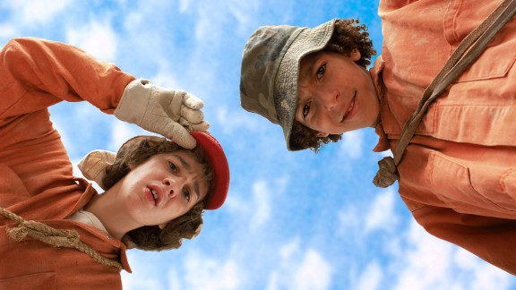 """As """"Even Stevens"""" wrapped up, LaBeouf landed another breakout role, this time in film. He starred in 2003's """"Holes,"""" which was adapted from Louis Sachar's novel."""