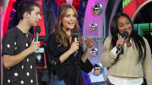 """As his fame grew, LaBeouf became part of the parade of kid stars who were becoming household names, like Amanda Bynes and Raven Symone. The trio appeared on MTV's """"Total Request Live"""" in 2005."""