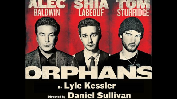 """In 2013, LaBeouf was poised to enter the world of theater with a Broadway production of """"Orphans"""" that co-starred Alec Baldwin. Yet before he could make his debut on the Great White Way, the actor dropped out of the project over """"creative differences"""" -- and then for reasons known only to him, decided to publicly share private correspondence about behind-the-scenes tension. He and Baldwin apparently had conflict """"as men. Not as artists, but as men,"""" LaBeouf later said."""