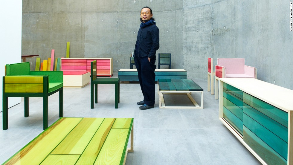 "<em>Iro</em><br /><br />Japanese architect <a href=""http://schemata.jp/"" target=""_blank"">Jo Nagasaka</a> has designed a range of bright furniture, <a href=""http://www.establishedandsons.com/"" target=""_blank"">Iro</a>, named after the Japanese word for color. The vibrant collection follows Nagasaka's minimalistic style aesthetic, with flourish reserved for the neon-colored resin through which the natural grain of the wood is still visible."