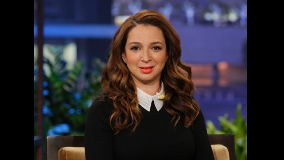 "Actress Maya Rudolph is the daughter of soul singer Minnie Riperton and songwriter Richard Rudolph. ""I don"