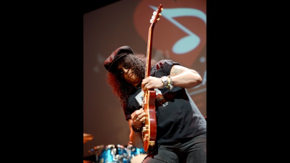 Saul Hudson, more popularly known as the musician Slash, is the former lead guitarist for Guns N