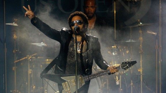 "Lenny Kravitz is the son of Roxie Roker, who played Helen Willis on the TV sitcom ""The Jeffersons,"" and NBC news producer Sy Kravitz. ""I knew that my father physically looked different from my mother, but that wasn"