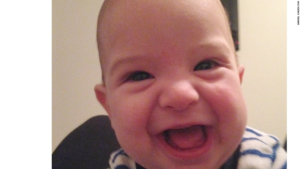 """Pop! Goes the Weasel. I don't know why that's so funny... It just is!"" -- Wilson Kinder (son of AC360 producer Gabriel Kinder), age 5 months. We hear ya, kid!"