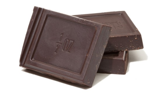 Unsweetened Chocolate -- An aptly named man, James Baker, began manufacturing unsweetened chocolate in Massachusetts in 1765; his Baker