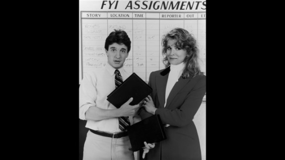 Investigative journalist Murphy Brown wore the pants (and the blazer) in 1980s TV series of the same name. This was the decade of the power suit, with everyone from Princess Diana to Margaret Thatcher donning the ubiquitous shoulder pads.