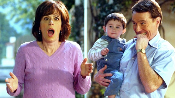 """Jane Kaczmarek as Lois Welker-Wilkerson, who works in a store, in """"Malcolm in the Middle."""""""
